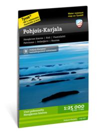 Wandelkaart Pohjois - Karjala - Karelië   Calazo   1:25.000   ISBN 9789186773502