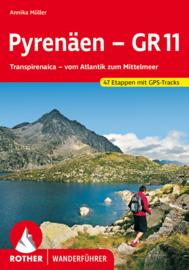 Wandelgids GR 11 - Pyreneeën : Van de Atlantische Oceaan naar de Middellandse Zee | Rother | ISBN 9783763344871