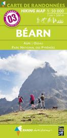 Wandelkaart Béarn - PN des Pyrenées - Gourette - Cauterets (Frankrijk - Pyreneeen) | Rando Edition 03 | 9782344008058