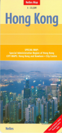 Wegenkaart Hong Kong   Nelles   1:22.500   ISBN 9783865740335