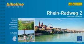 Fietsgids Rhein Radweg 2 : Basel - Mainz - 400 km | Bikeline | ISBN 9783850009577