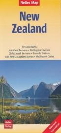 Wegenkaart Nelles Nieuw Zeeland | 1:1,25 miljoen | ISBN 9783865745071
