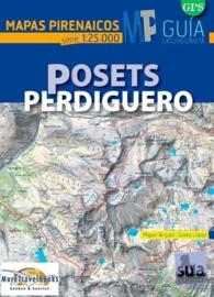 Wandelkaart Posets - Perdiguero | SUA | Centrale Pyreneeën | 1:25.000 | ISBN 9788482166353