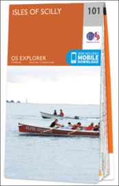 Wandelkaart Isles of Scilly | Ordnance Survey Explorer 101 | 1:25.000 | ISBN 9780319243039