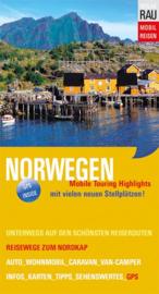 Campergids  Noorwegen - Mit dem Wohnmobil nach Norwegen | Werner Rau Verlag | ISBN 9783926145772