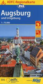 Fietskaart  Augsburg en omgeving | ADFC - BVA Regionalkarte | 1:75.000 | ISBN 9783870739188