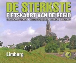 Fietskaart De sterkste fietskaart van de regio : Limburg | Buijten & Schipperheijn | 1:50.000 | ISBN 9789058817198