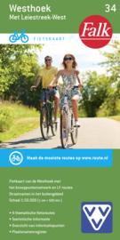 Fietskaart  Westhoek met Leiestreek-west 34 | Falk | ISBN 9789028730526