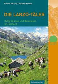 Wandelgids - Trekkinggids Die Lanzo Täler | Rotpunkt Verlag | ISBN 9783858696496
