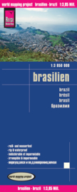 Wegenkaart Brazilië - Brasilien | Reise Know how | 1:3,85 miljoen | ISBN 9783831771493