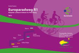 Fietsgids Europaradweg R-1 / 1310 km  | IS.RADWEG | Klaipeda - Letland - Estland - St. Petersburgh | ISBN 9783981002928