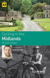 Fietsgids Cycling in the Midlands | Sustrans AA | ISBN 9780749561727
