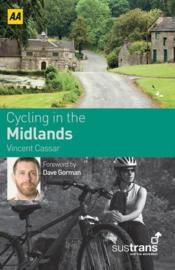 Fietsgids Cycling in the Midlands | Sustrans AA | ISBN 9780749561727