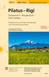 Wandelkaart Pilatus - Rigi | Bundesamt 3311T |  ISBN 9783302333113