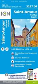 Wandelkaart St.Amour, Arinthod, Orgelet, St.-Julien, Beaufort | Jura | IGN 3227 OT - IGN 3227OT | ISBN 9782758542834