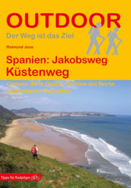Wandelgids-Trekkinggids Jakobsweg - Küstenweg | Conrad Stein Verlag | Pelgrimsgids Kustroute | ISBN 9783866864054