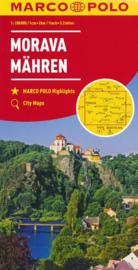 Wegenkaart - Fietskaart Mähren / Moravia - Tsjechië | Marco Polo | 1:200.000 | ISBN 9783829739986