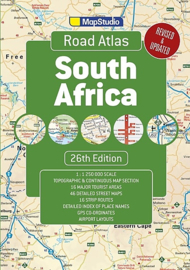 Wegenatlas South Africa - Zuid-Afrika 2017 | 1:1,25 miljoen | Map Studio | ISBN 9781776170234