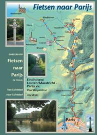 Fietsgids  Fietsen naar Parijs (en terug) | Benjaminse | ISBN 9789077899144