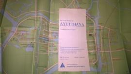 Wegenkaart Ayutthaya | Prannok Witthaya Maps | 1:200.000