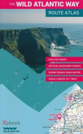 Wegenatlas The Wild Atlantic Way Ierland | Xploreit | 1:126720 | ISBN 9780955265563