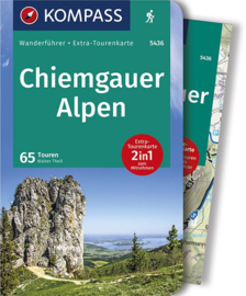 Wandelgids Chiemgau | Kompass 5436 | ISBN 9783850269445