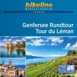 Fietsgids Genfersee Rundtour | 192 km | Bikeline | ISBN 9783850008549