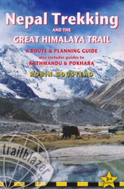 Wandelgids - Trekkinggids Nepal Trekking & The great Himalayan Trail   Trailblazer   ISBN 9781912716166