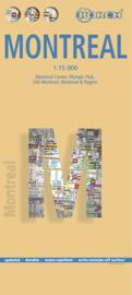 Stadskaart Borch Montreal | 1:17.500 | ISBN 9783866093270