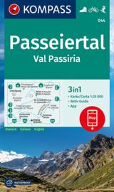 Wandelkaart Passeiertal / Val Passiria | Kompass 044 | 1:25.000 | ISBN 9783990449363