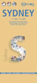 Stadskaart Sydney | Borch | 1:7.500 1:15.000 | ISBN 9783866093133