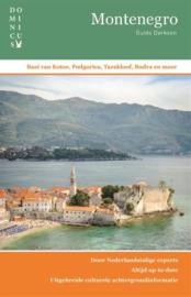 Reisgids Montenegro   Dominicus   ISBN 9789025766474