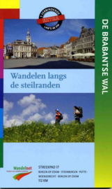 Wandelgids-Trekkinggids De Brabantse Wal | LAW - NIVON - Streekpad 17  | ISBN 9789071068003