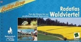 Afgeprijsd - Fietsgids Waldviertel Radatlas | Bikeline | ISBN 9783850000963