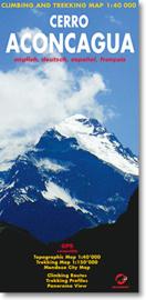 Wandelkaart Aconcagua | Climbing-map | 1:40.000 / 1:150.000 | ISBN 9783952329405