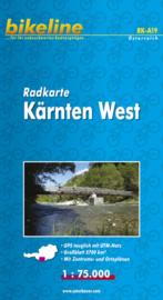 Fietskaart Karinthië West / Kärnten West | 1:75.000 | Bikeline | ISBN 9783850000154