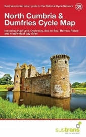 Fietskaart North Cumbria & Dumfries | Sustrans Cycle Map 35 | ISBN 9781910845158