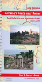 Fietsgids Reitsma`s Route naar Rome Deel 3: Ferrara - Rome | Pirola | ISBN 9789064558405