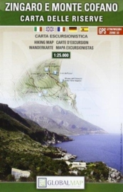 Wandelkaart Zingaro and Monte Cofano | Global Maps | 1:25.000 | ISBN 9788879145084