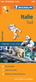 Wegenkaart Italie Sud | Michelin 564 | 1:400.000 | ISBN 9782067184039