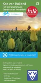 Fietskaart Kop van Holland met Kennermerland  nr.13 | 1:50.000 | Falk | ISBN 9782758546764