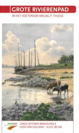 Wandelgids Grote Rivierenpad | LAW 6 -NIVON | van Hoek van Holland naar Kleef (Kleve) | ISBN 9789492641038