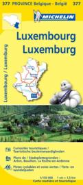 Wegen- en Fietskaart Luxemburg| Michelin 377 | 1:150.000 | ISBN 9782067185340