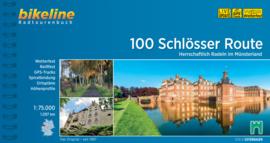 Fietsgids 100 Schlösser im Münsterland - 1097 km. | Bikeline | ISBN 9783850008815