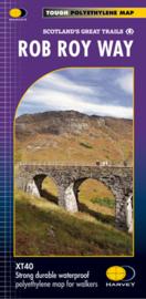 Wandelkaart Rob Roy Way - Drymen to Pitlochry | Harvey Maps | 1:40.000 | ISBN 9781851375196