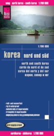 Wegenkaart Nord & Süd Korea | Reise Know How |  Wegenkaart Noord en Zuid Korea / 1:700.000 | ISBN 9783831772537