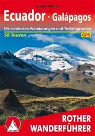 Wandel - Trekkinggids Ecuador und Galapagos | Rother Verlag | ISBN 9783763343751