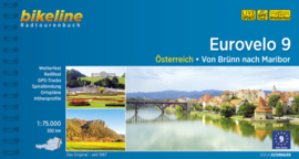 Fietsgids Eurovelo 9 - Brno - Maribor - 568 km. | Bikeline | ISBN 9783850006644