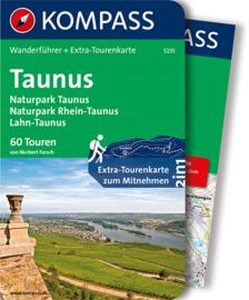 Wandelgids Taunus | Kompass 5235 | ISBN 9783850269407