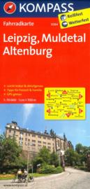 Fietskaart Leipzig, Muldetal, Altenburg | Kompass 3084 | 1:70.000 | ISBN 9783850265867